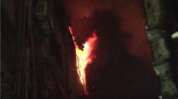萬華頂加火警!孫子衝上樓來不及救 2長者燒成焦屍