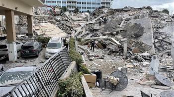 美國佛州大樓坍塌增至4死 159人仍生死未卜