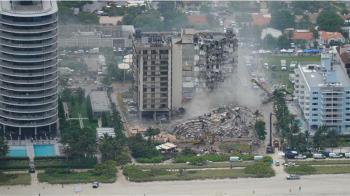 邁阿密樓塌「4死159失聯」小男孩瓦礫堆伸手哭喊:別離開我