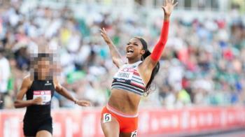 女子200米史上第2快 新秀湯瑪絲入選美奧運代表隊