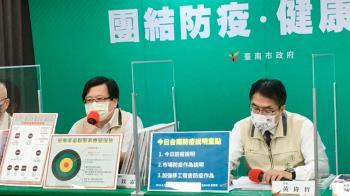台南家庭群聚追感染源 1未確診家人血清抗體陽性