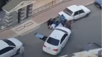夫妻離婚爆衝突!街頭直接開槍掃射 駕車撞飛1女畫面曝