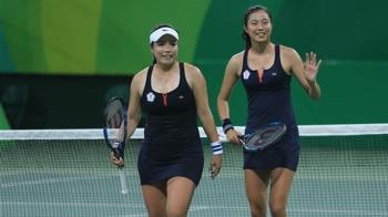 詹詠然詹皓晴取得東奧女雙資格 連2屆搭檔參賽