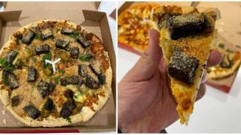 香菜皮蛋豬血糕Pizza熱搜!中秋節推「棗泥」口味? 三色豆+鴨血也上榜