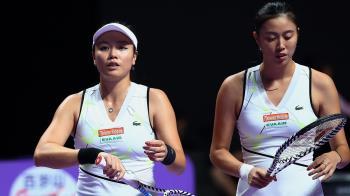 詹家姊妹溫網開紅盤 直落二晉級女雙第2輪