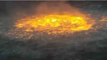 震撼!墨西哥灣管線爆燃「烈火猛燒」開啟地獄之門