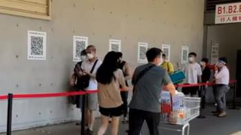 新竹美式賣場「人龍排到地下室」 網友驚:自主降二級了?