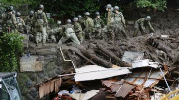 日本熱海市土石流已知3死 80人失聯待確認