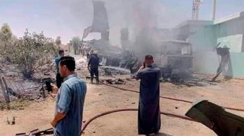 快訊/美駐巴格達大使館遭飛彈襲擊 當地警報狂響