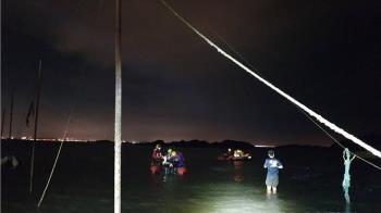 金門6大學生超崩潰 暗夜困離岸500m礁石上