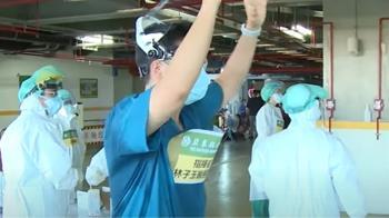 獨/超強團隊!亞東醫院快篩快打部隊一天可篩打1萬人