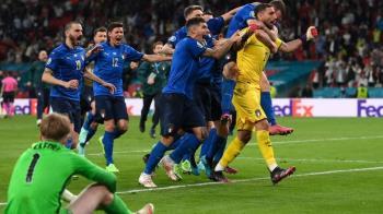 歐洲杯2020決賽英格蘭主場落敗「極端痛苦」 意大利狂喜再捧金杯