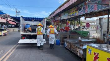 興達港漁市沒落實防疫勒令停2天 蚵仔寮攤販很有感