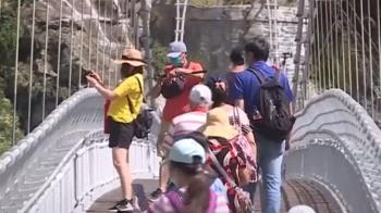 終於微解封 遊客衝合歡山武嶺賞景拍照