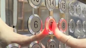 電梯按鈕「汙染率43%」 微解封上班族八大防疫要領