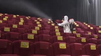 威秀微解封後首場電影上映 員工比觀影民眾多