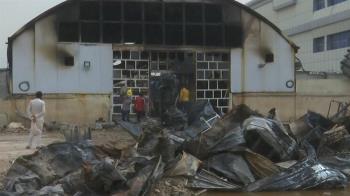 新冠病房爆大火!氧氣瓶爆炸全毀 66人慘死