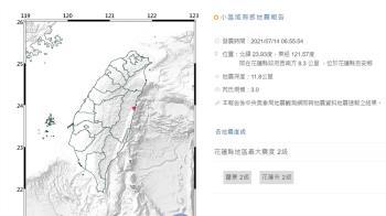 快訊/4分鐘連3震!最大規模5級 台北有感