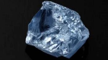 全球最貴!南非39.3克拉藍鑽 11.21億天價售出