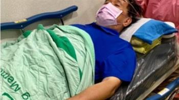 陳水扁驚傳缺氧!血氧一度降到90% 虛弱躺床照曝光