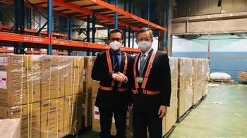 台灣援贈印尼200台製氧機 助朋友抗疫度難關