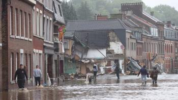 比利時大洪災逾20人罹難 訂7/20為全國哀悼日