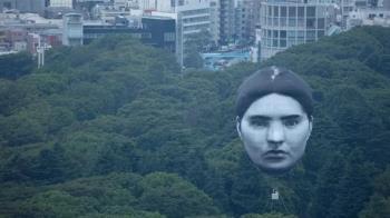東京上空驚見「巨型人頭」 網嚇壞:是伊藤潤二?