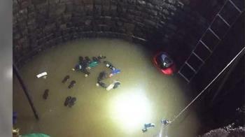 14歲少年掉9米深井 30警消救援也慘摔…最終釀3死