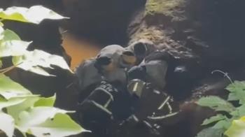 工安意外!三峽涵洞「石塊掉落」砸工人 1命危2受傷