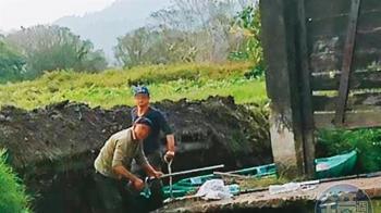 台灣罕見活盆地毀了!他超挖大排害良田全淹水
