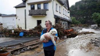 歐洲特大洪水:至少120人死亡,逾千人下落不明