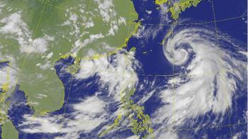 烟花颱風20日增強至「中颱」 北台灣週三起留意雨勢