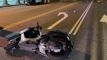 台中18歲騎士載女友自摔 撞上對向車慘死