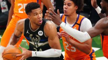 字母哥狂奪50分5阻攻 公鹿勝太陽奪NBA總冠軍