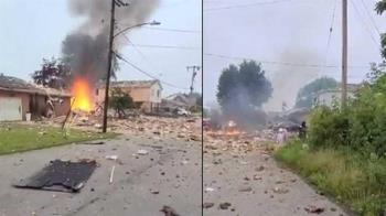住宅氣爆炸成廢墟「92歲嬤慘死」!鄰近7房屋也遭波及