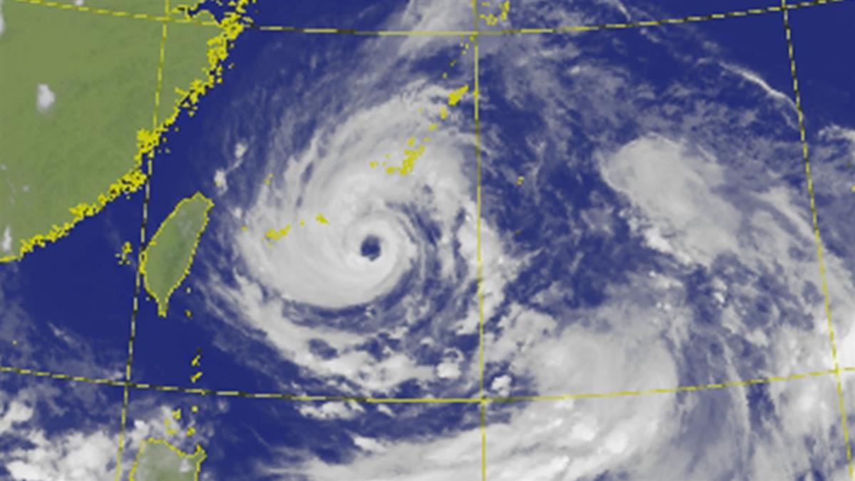 烟花90度大轉彎!這時間風雨最劇 專家曝「放颱風假機率」