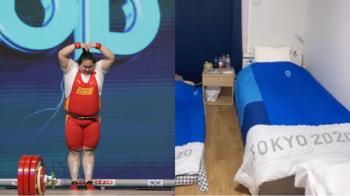150kg舉重女將「睡紙板床會垮嗎?」 她拍片證明不垮關鍵
