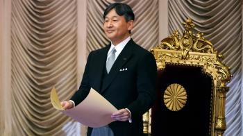 日皇德仁接見國際奧會主席 盼東奧牽起嶄新未來