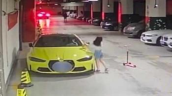 390萬BMW遭女童踩碎 家長拒賠:別和小孩計較