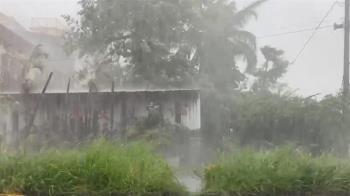 快訊/ 烟花颱風就在家門口 北北基16縣市雨彈開炸