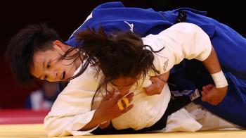 連開紅盤!女子柔道二連勝 林真豪奧運初體驗闖8強