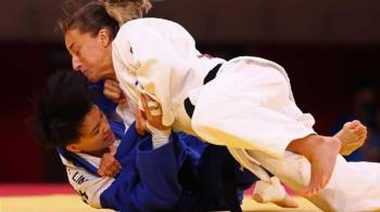 柔道女將林真豪「不敵以色列」 無緣銅牌戰