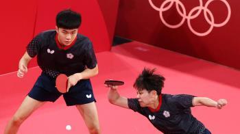 快訊/真的贏韓國了!中華桌球黃金混雙挺進四強