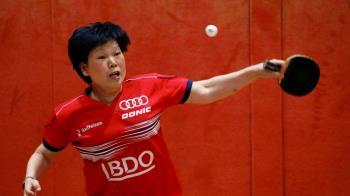 差41歲!桌球嬤交手17歲韓國妹 58歲還在打奧運