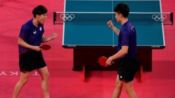 林昀儒、鄭怡靜抗韓成功 桌球黃金混雙東京奧運晉級4強
