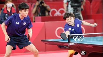 睽違21年!林昀儒、鄭怡靜桌球混雙摘銅 寫下新紀錄