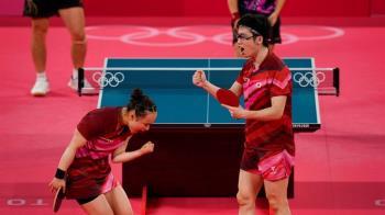 水谷隼戴怪眼鏡參賽有洋蔥 守護小12歲妹妹奪奧運金牌