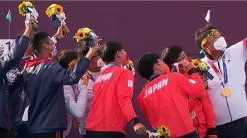奧運精神!韓射箭選手邀台日「金銀銅」自拍 網讚太溫馨
