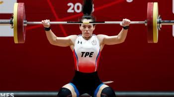 快訊/舉重女神郭婞淳抓舉103公斤 直接破奧運紀錄