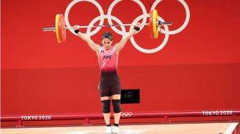 郭婞淳輕鬆刷紀錄!挑戰141kg倒地燦笑 享受比賽瞬間曝
